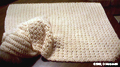Thumbnail of a beige baby blanket